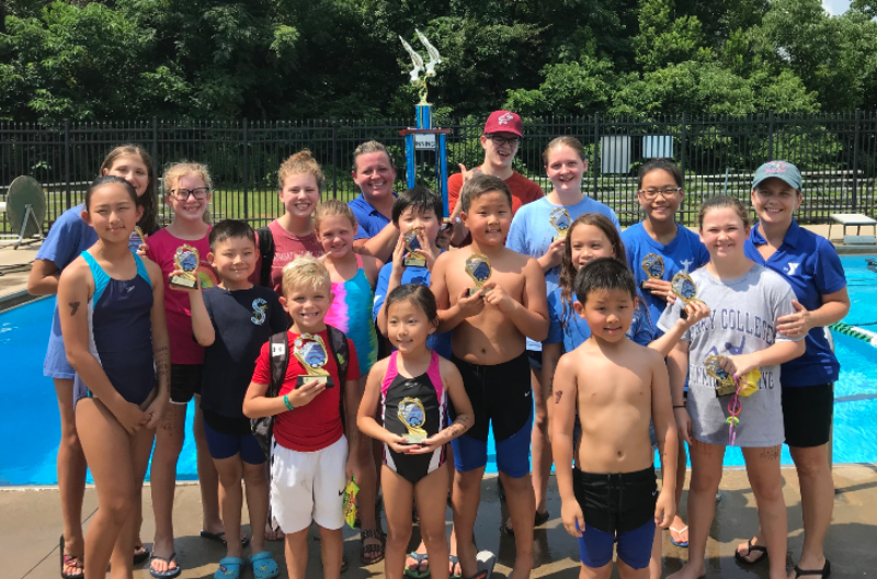 Swimming Titans Swimmers Excel During Active Summer Schedule