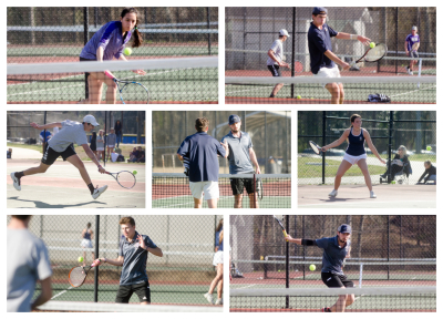 Newnan's boys had three wins by tiebreakers during a sweep of East Coweta at home.