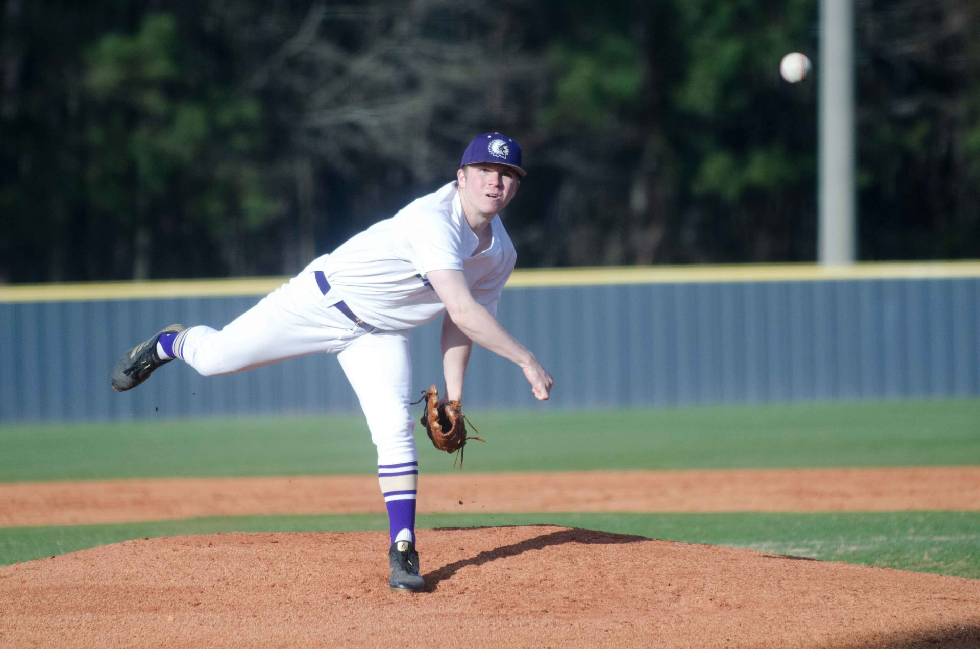 HS BASEBALL: Indians roll to shutout win behind Frady; Cougars, Lions clobber region opponents